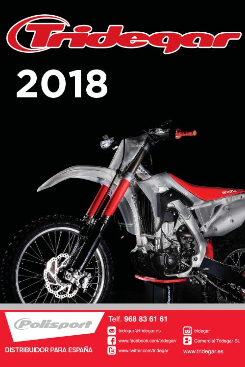Catálogo Tridegar moto 2018