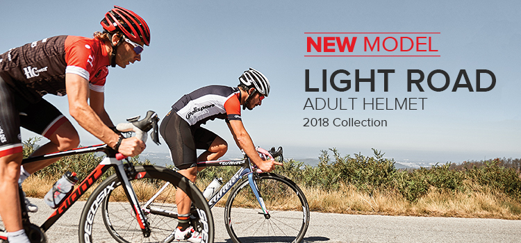 CASCOS BICICLETA CARRETERA LIGHT ROAD