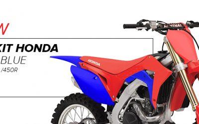 KIT MX HONDA CRF250R / 450R ROJO/AZUL